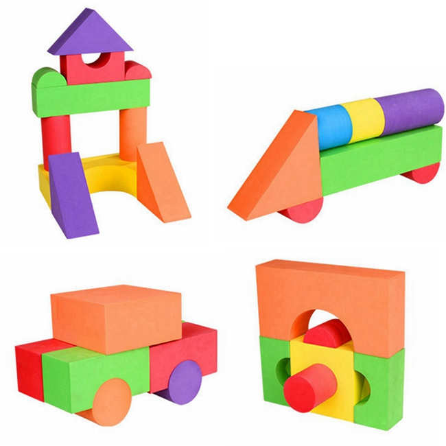 Eva Foam Building Blocks Toys For Kids
